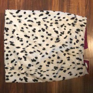 Trina Turk  dalmatian print pencil skirt